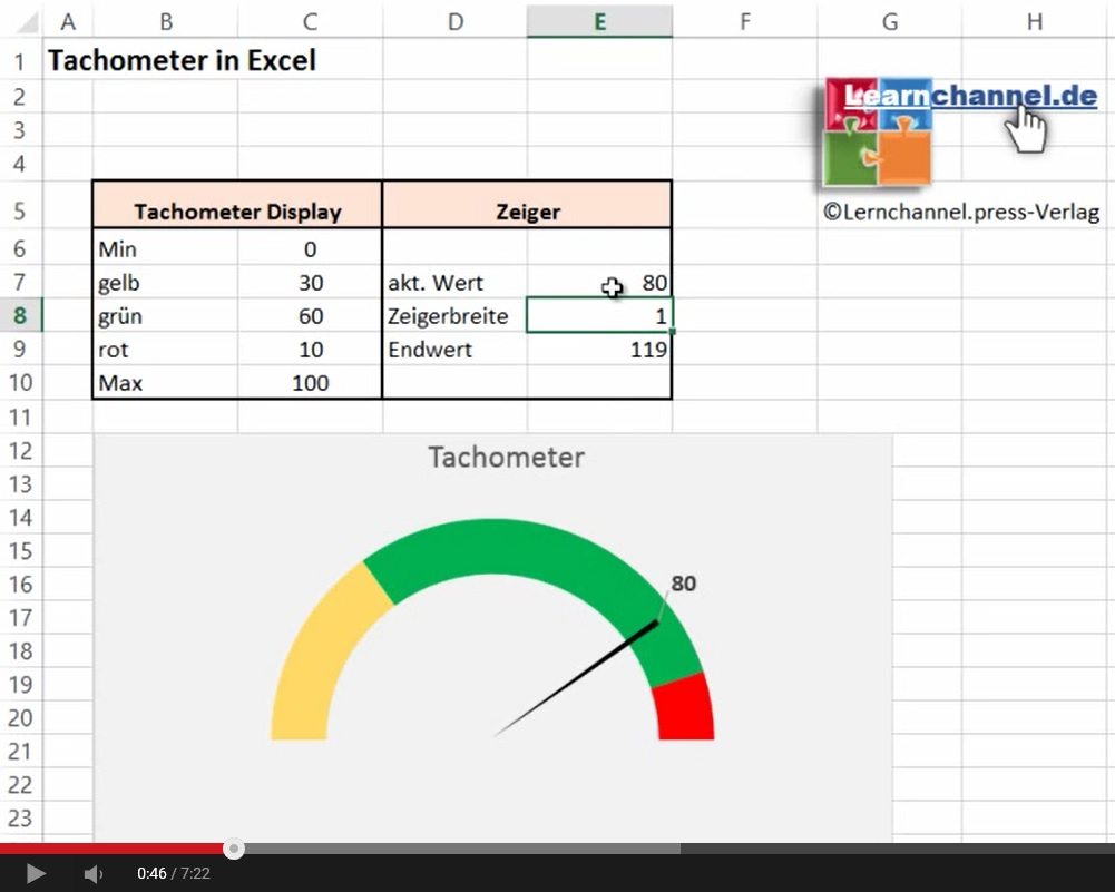 Learn by watch excel